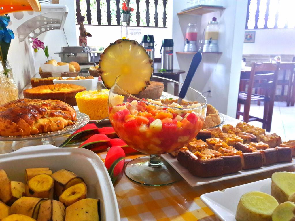 Café da Manhã Pousada Vila do Sossego